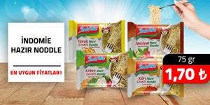 İndomie Hazır Noodle Çeşitleri kampanya resmi