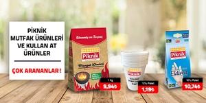 Piknik Mutfak Ürünleri kampanya resmi