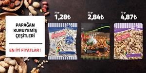 Papağan Kuruyemiş Çeşitlerinde En İyi Fiyatlar! kampanya resmi