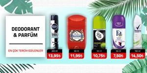 Doedorantlar ve Parfümler kampanya resmi