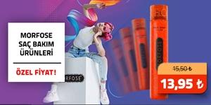 Morfose Ultra Sert Saç Spreyinde İndirim! kampanya resmi